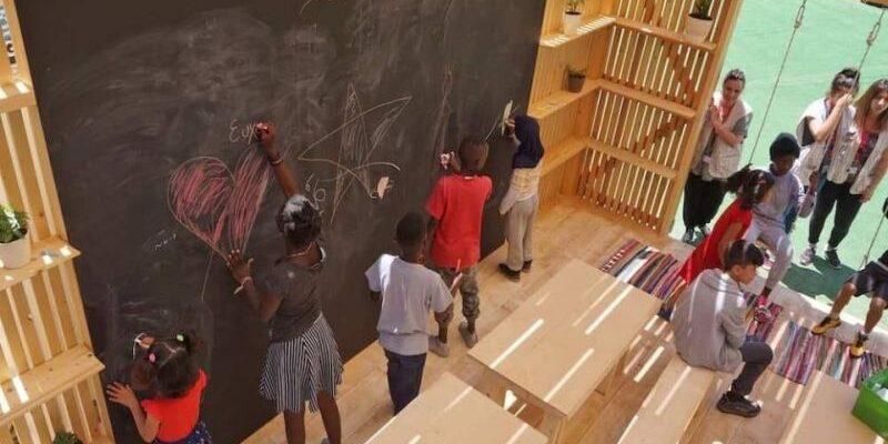 kreskante-kune escuela refugiados grecia